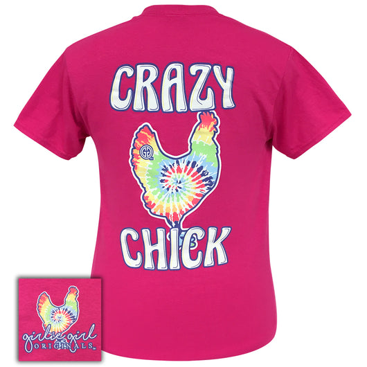 Tie Dye Crazy Chick Heliconia-2052 Short Sleeve