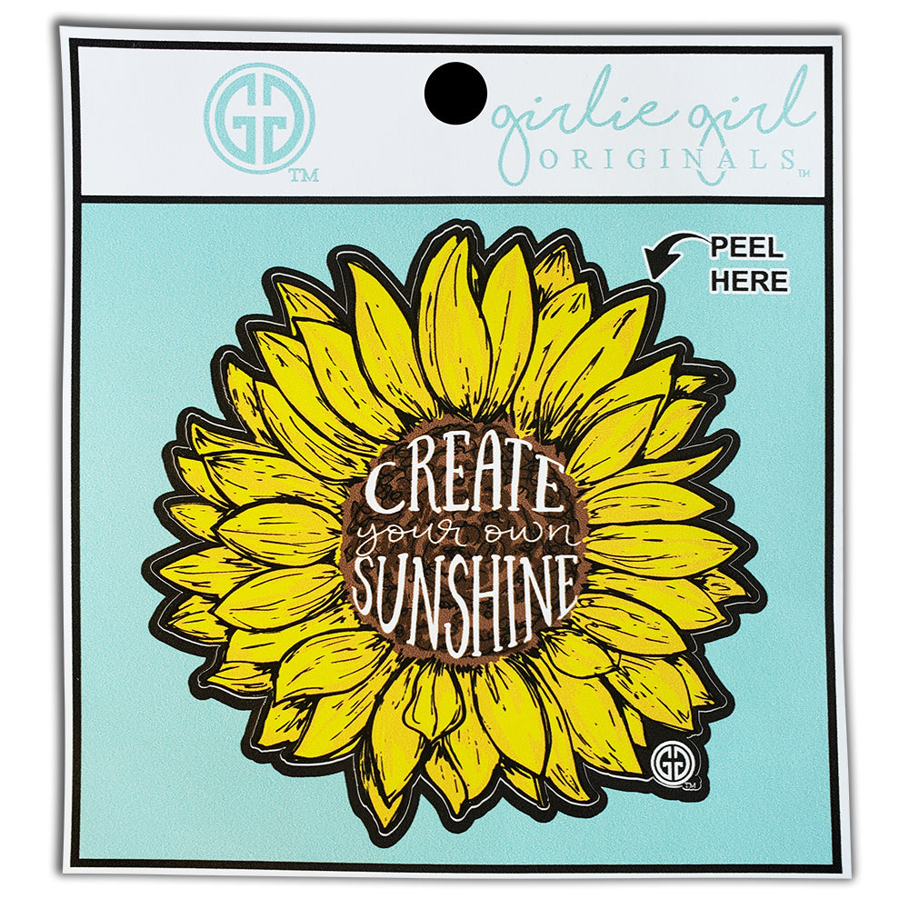 Create Your Own Sunshine Decal/Sticker
