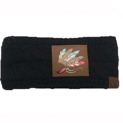 BJ-HW 101 Indian Feathers Headwrap