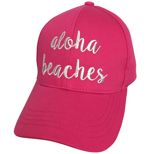 BA-2017 C.C Aloha Beaches Hot Pink Cap