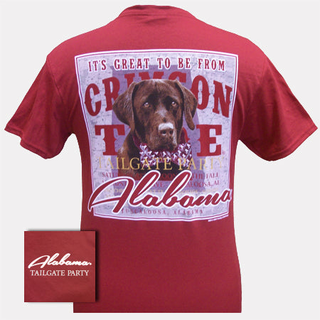 Alabama Lab Tailgate Party Cardinal Red