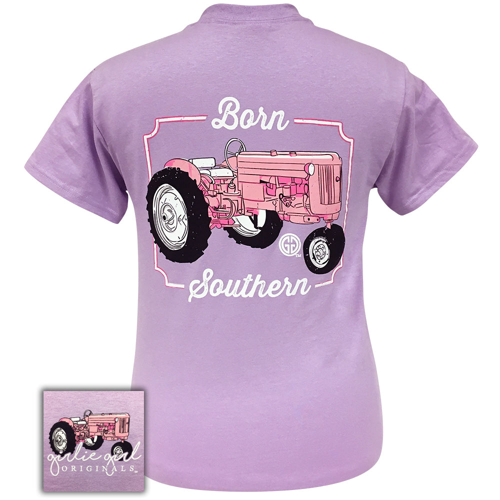 Born Southern Tractor Orchid-2057 Short Sleeve