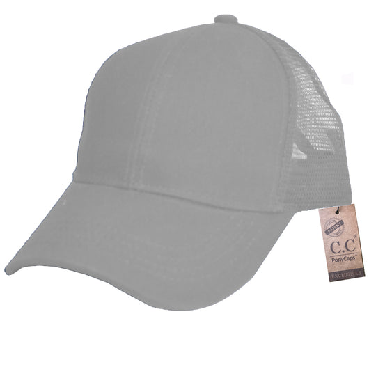 BT-4 Pony Caps Light Grey