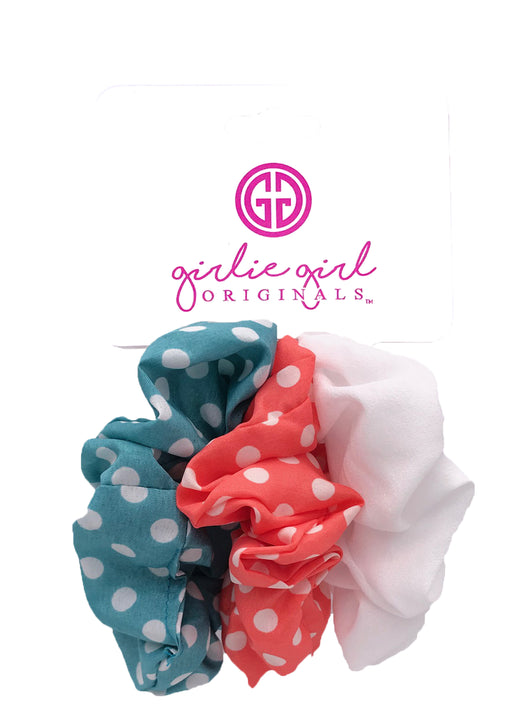 SCR-15-DOT Assorted Scrunchies