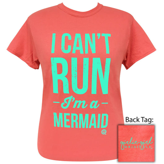 I Can't Run Coral Silk - 2010 Short Sleeve