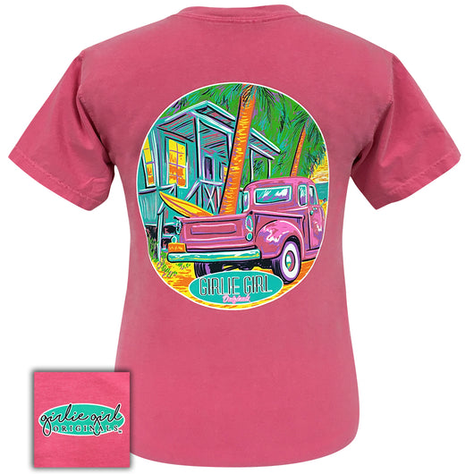 Beach Shack Comfort Color Crunchberry - 2019 Short Sleeve