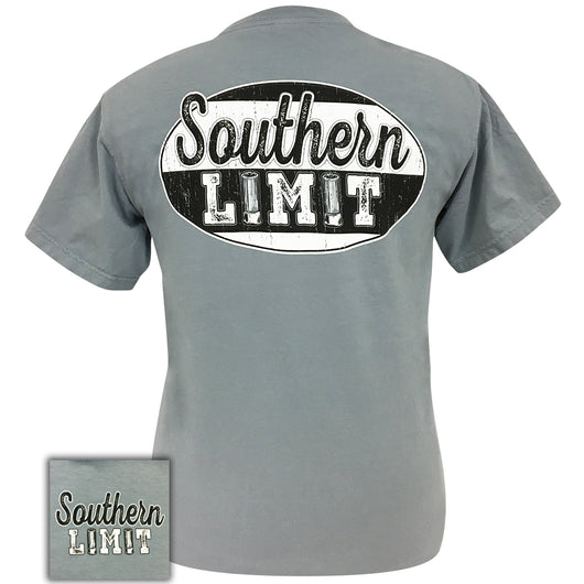 Southern Limit Shotgun Shell Logo Granite Comfort Color