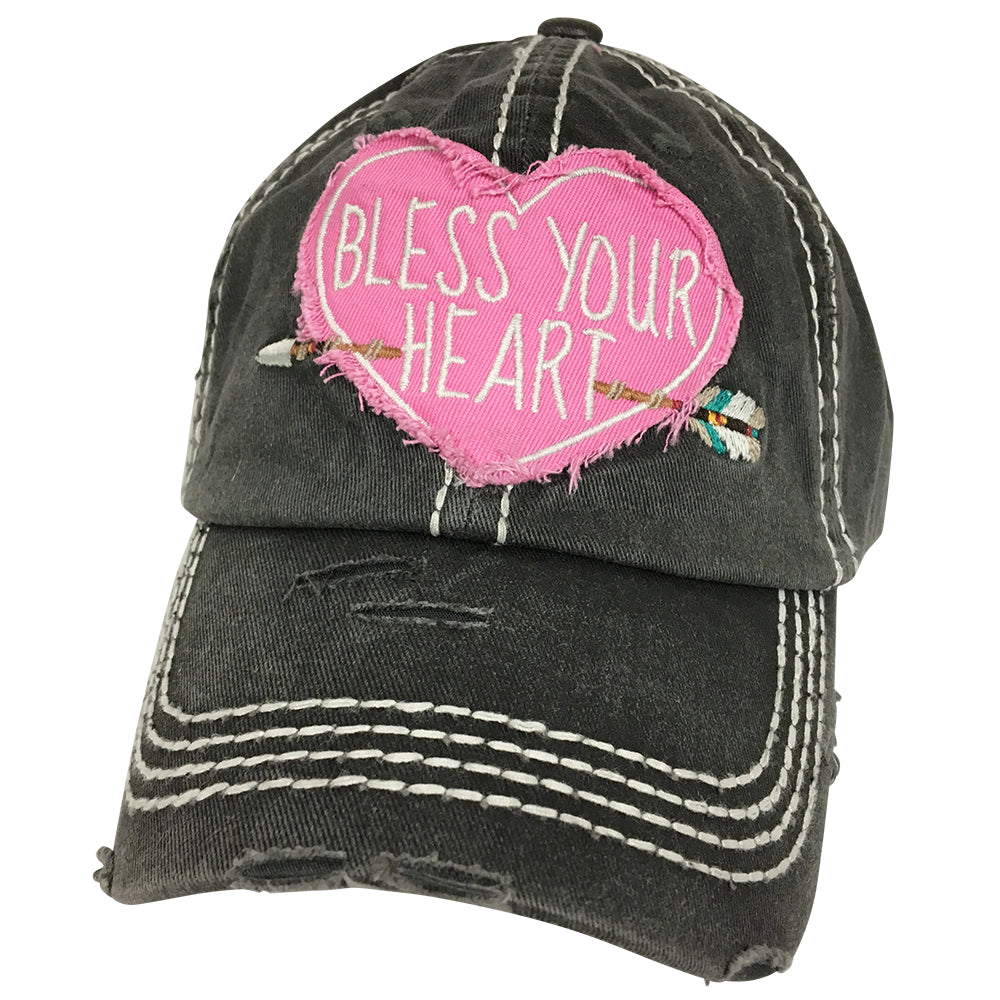 KBV-1166 Bless Your Heart-Charcoal