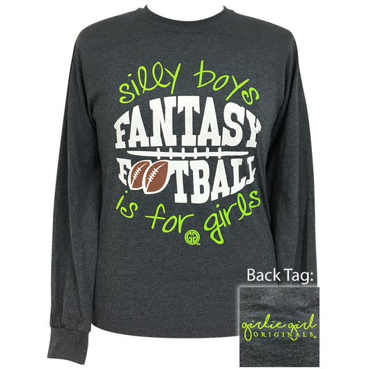 Fantasy Football Dark Heather Long Sleeve