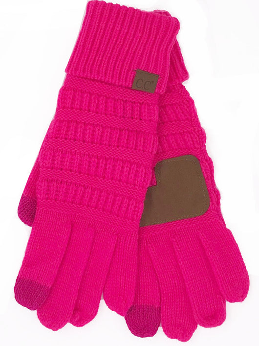 G-20-KIDS NEON PINK GLOVES