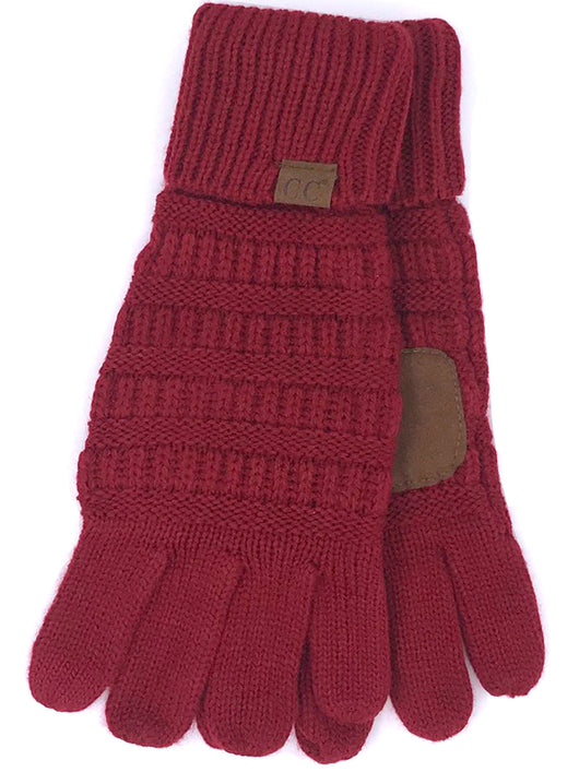 G-20 C.C Burgundy Gloves