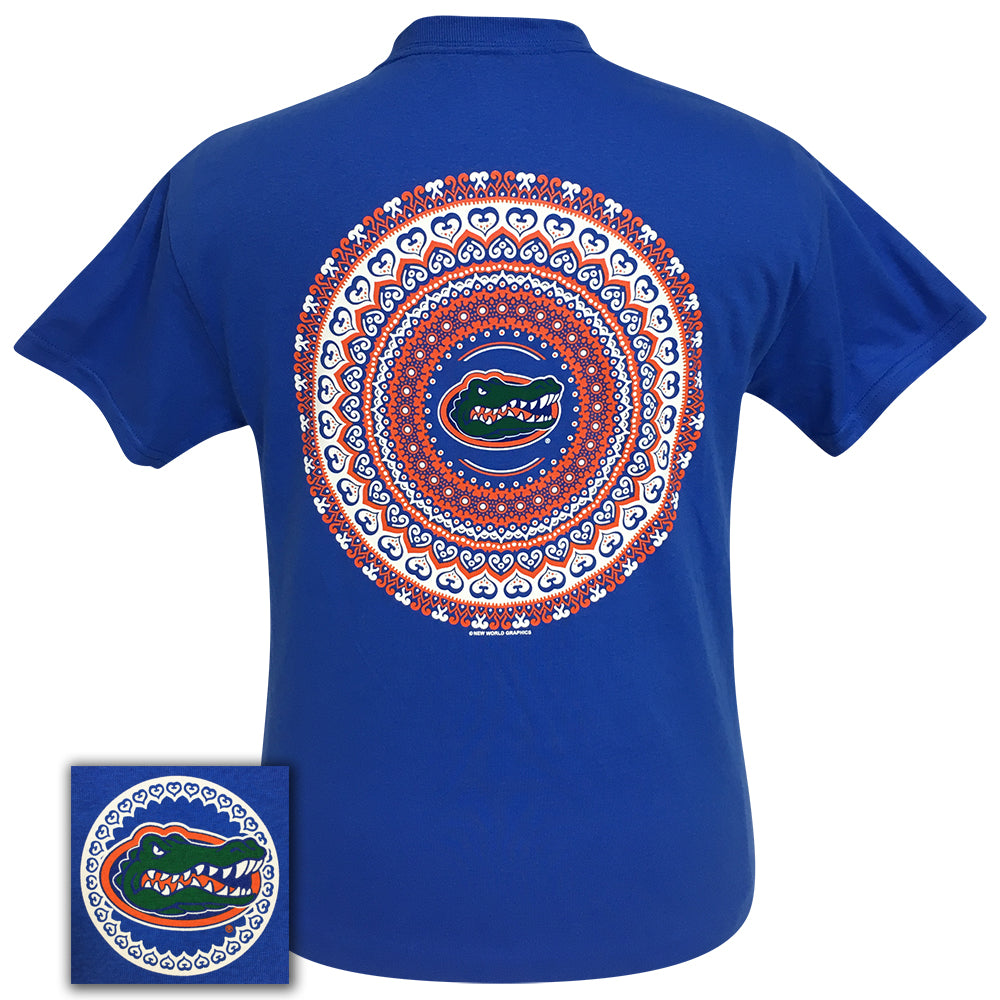 Florida Mandala Royal Short Sleeve