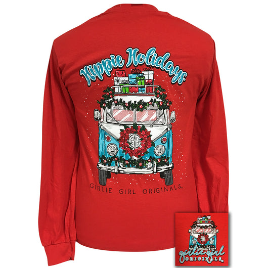Hippie Holidays Red Long sleeve