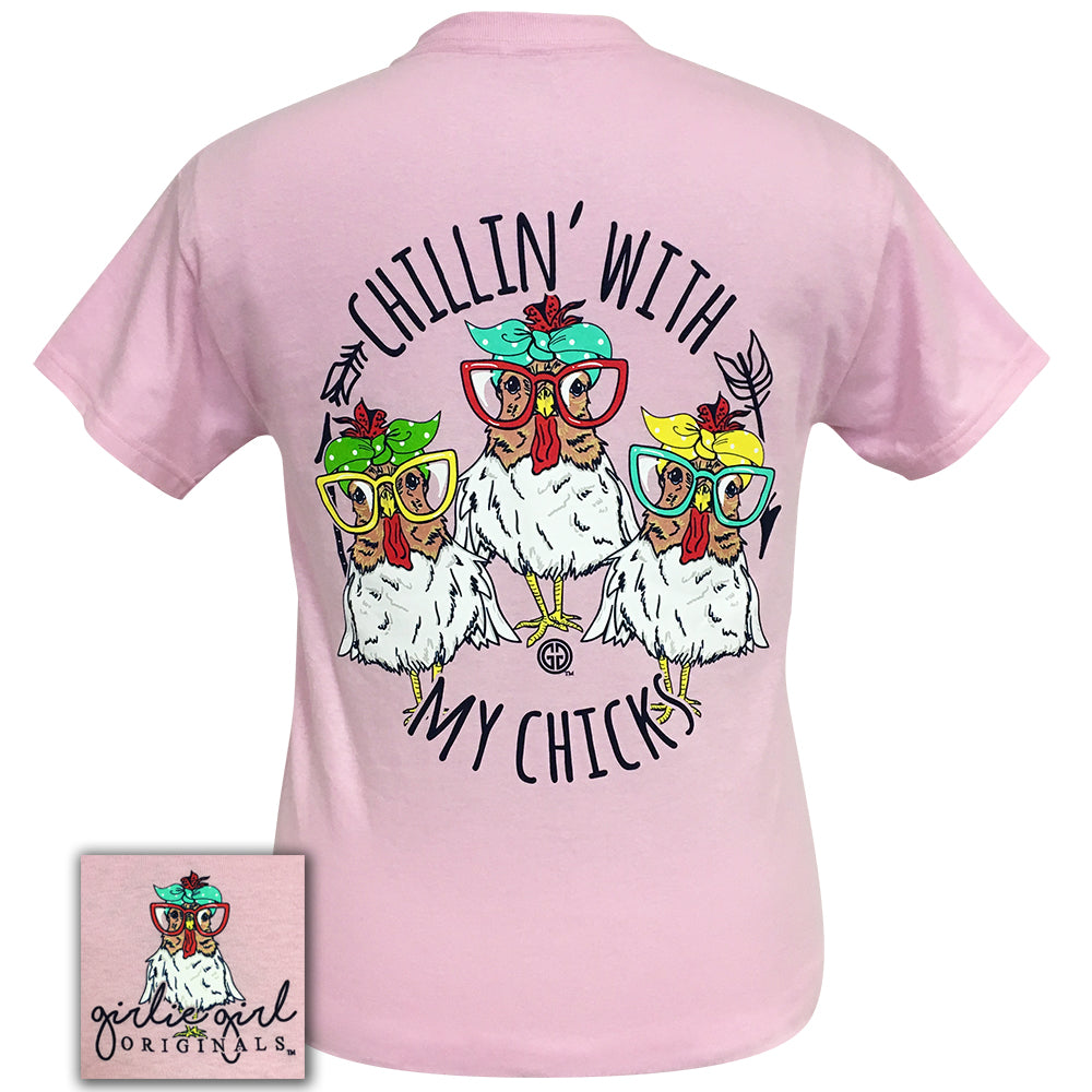 My Chicks Light Pink Short Sleeve