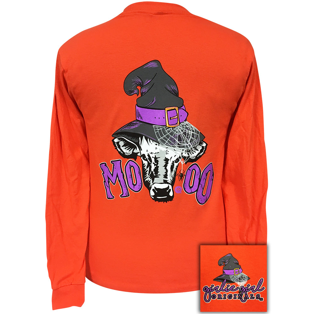 Moo Orange Long sleeve