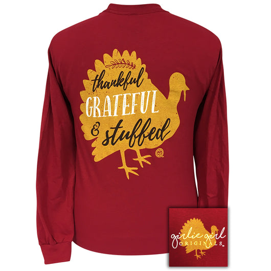 Stuffed Cardinal Red Long Sleeve