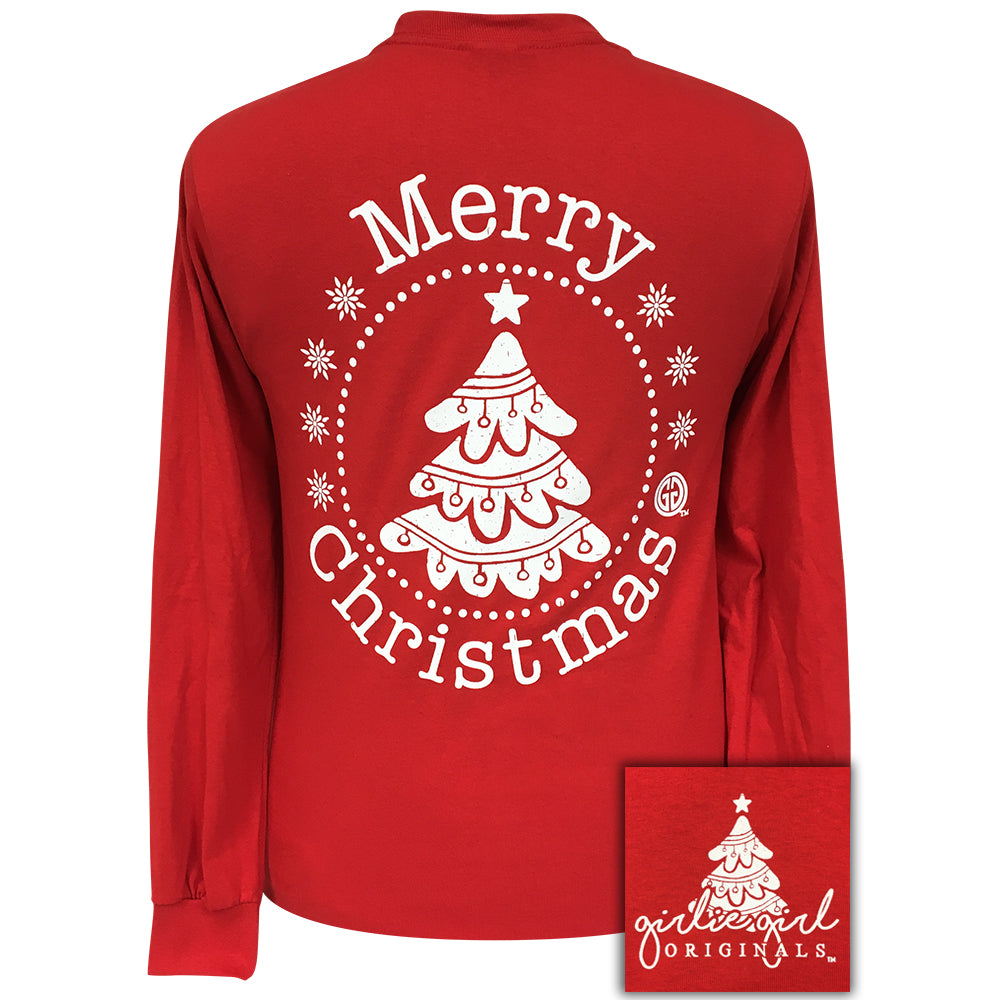 Merry Christmas Red Long sleeve