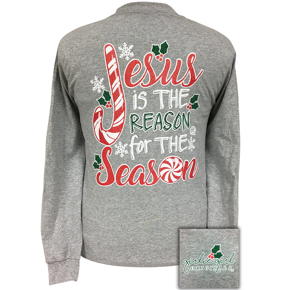 Jesus Season Sports Grey Long Sleeve