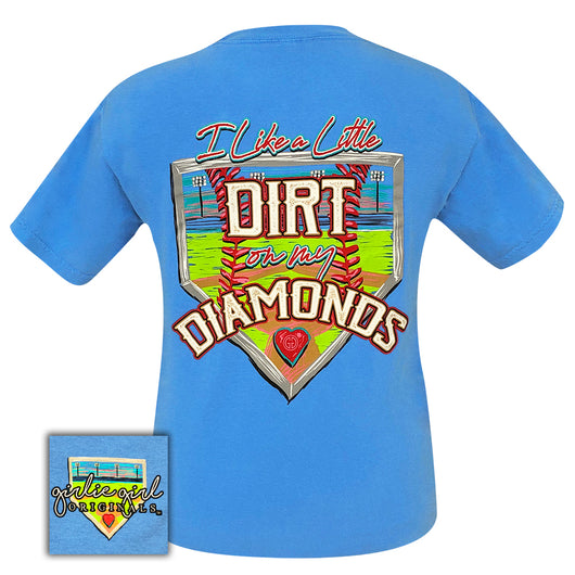 Dirt on My Diamonds-Comfort Color Royal Caribe SS-2064