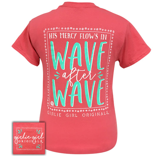 Wave After Wave-Coral Silk SS-2071