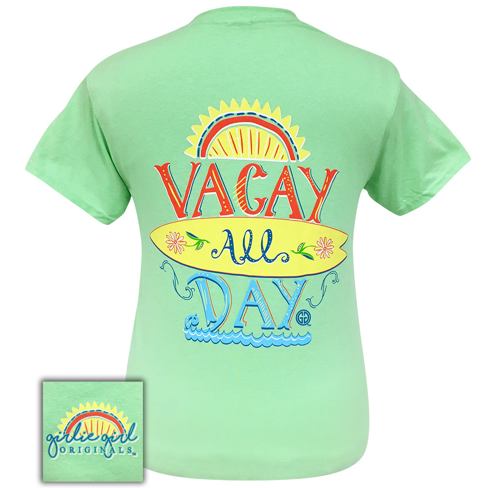 Vacay All Day - 2073 Mint Short Sleeve