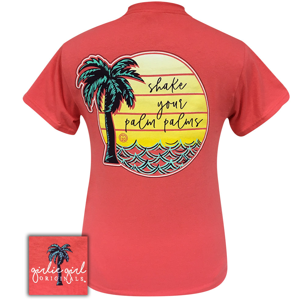 Shake Your Palm Palms Coral-2075 Short Sleeve