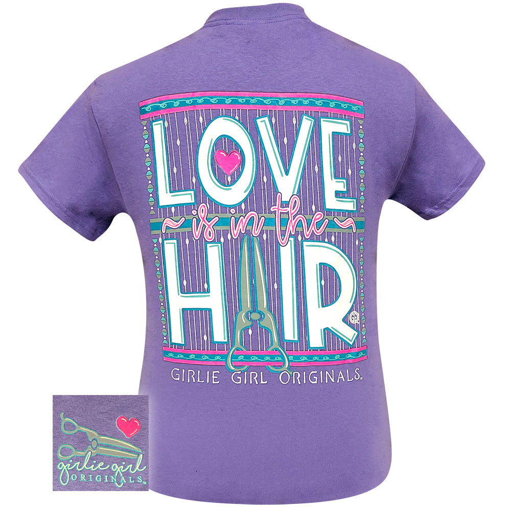 Love Is In The Hair Violet-2098 Short Sleeve