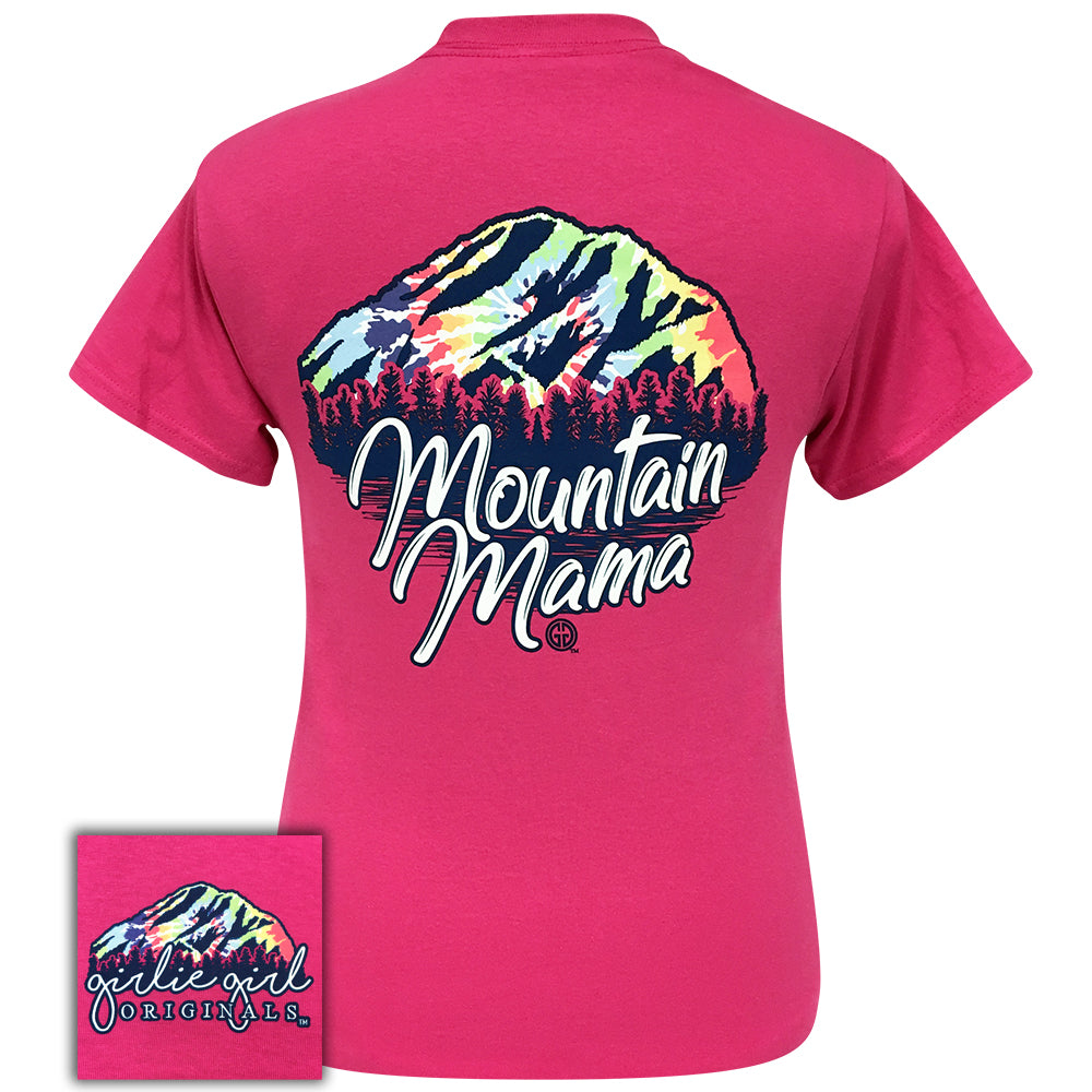 Tie Dye Mountain Mama-2104 Heliconia Short Sleeve
