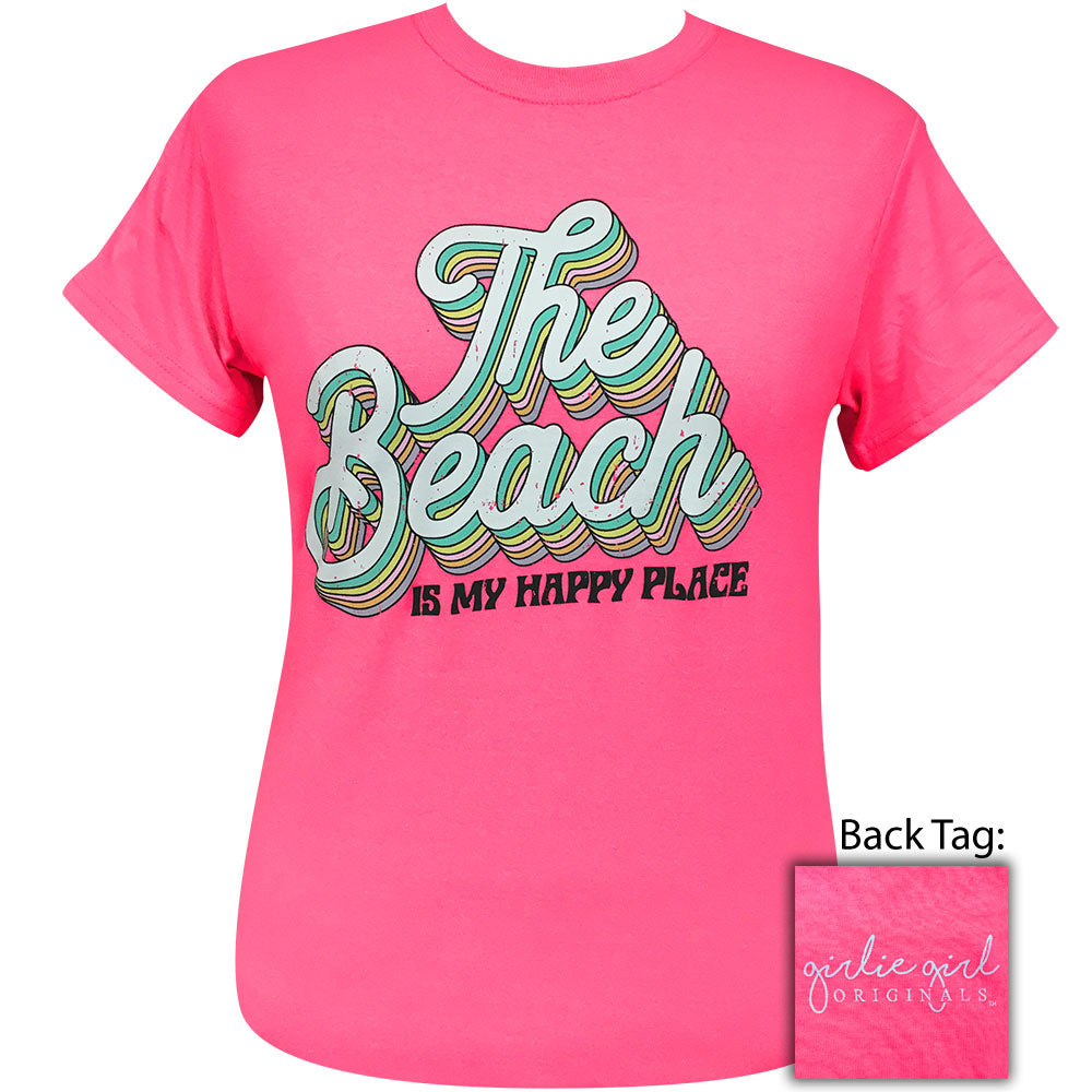 The Beach Safety Pink-2105 Short Sleeve