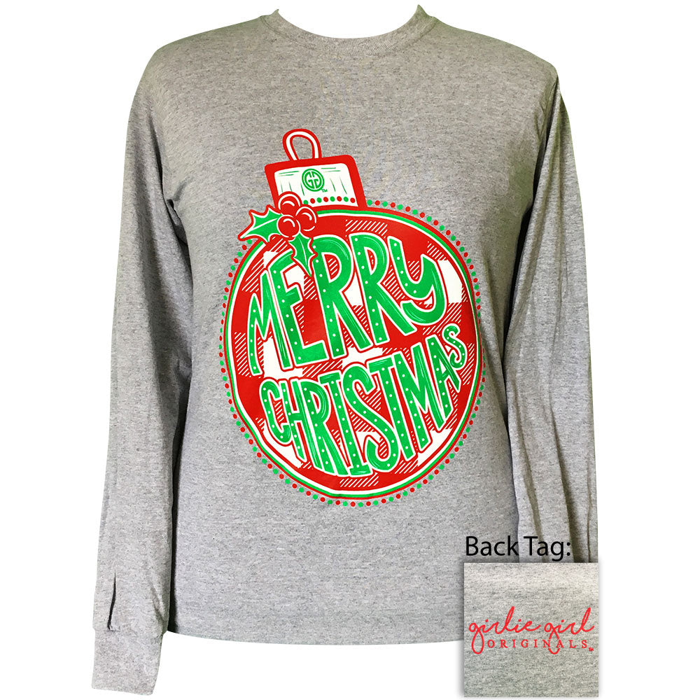 Plaid Ornament Sport Grey-2140 Long Sleeve