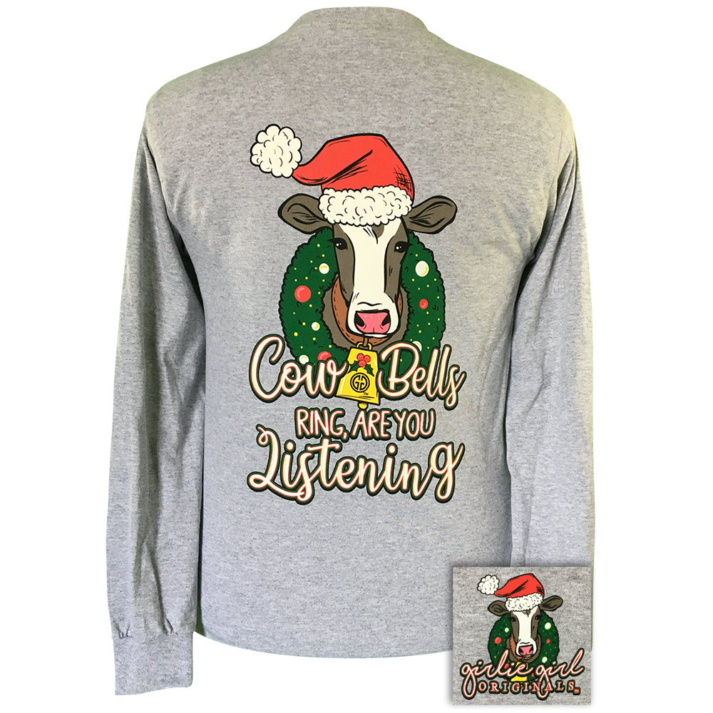 Cowbells Ring Sport Grey-2149 Long Sleeve