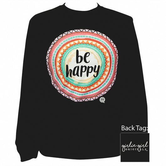 Be Happy Black-2167 Long Sleeve