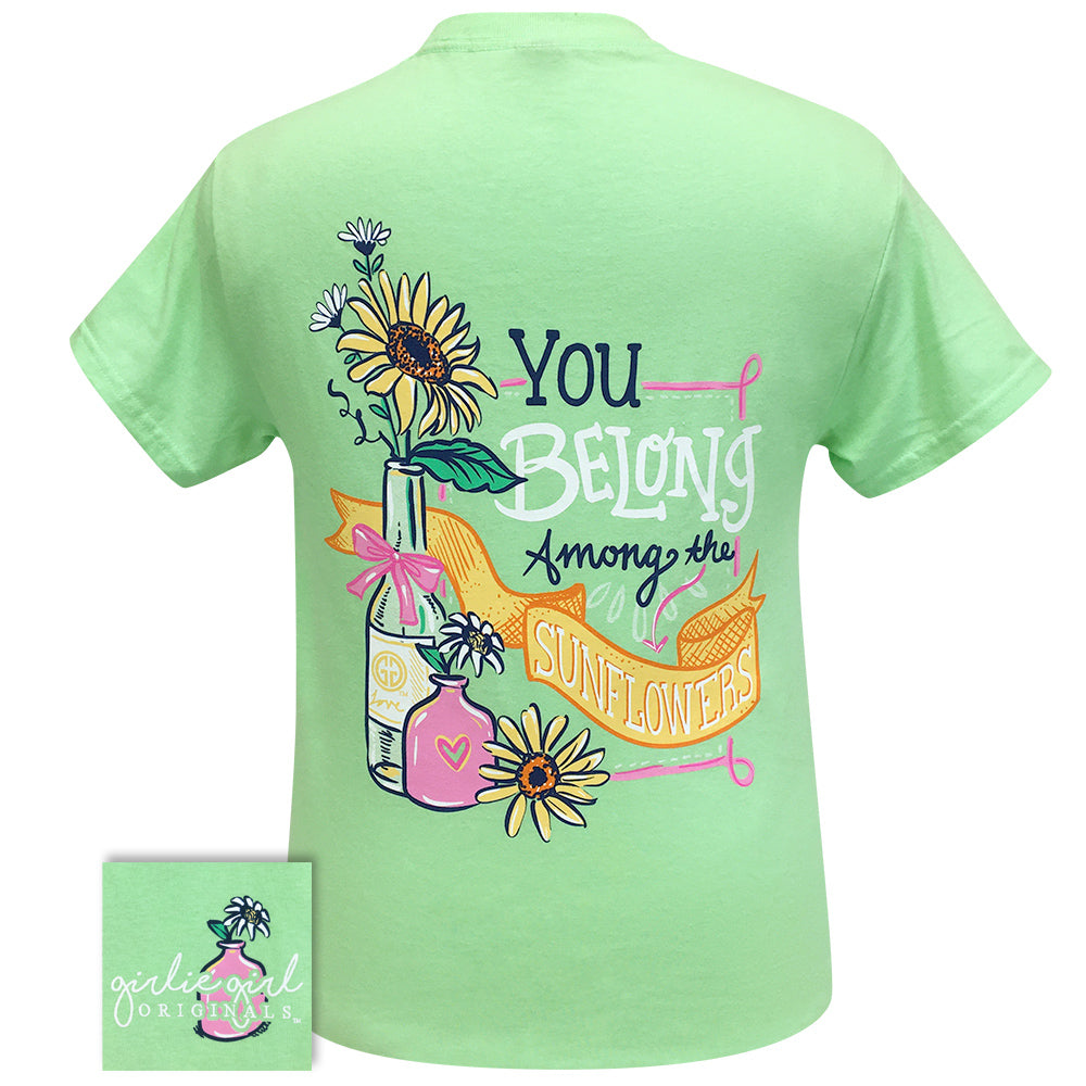 Belong Sunflower 2270 Mint Green Short Sleeve Tee