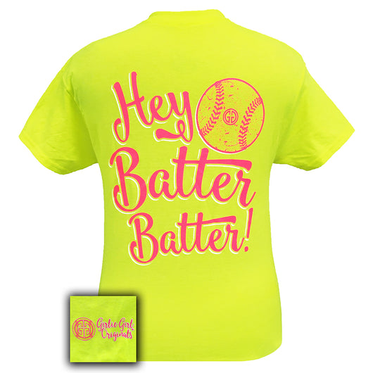 Batter Batter Softball Safety Green