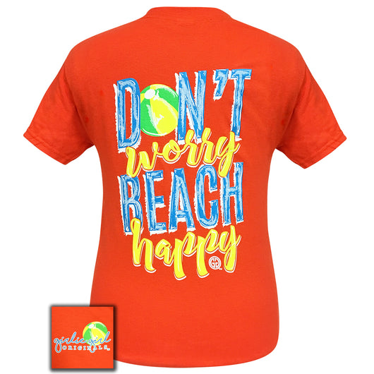Beach Happy-Orange SS-1699