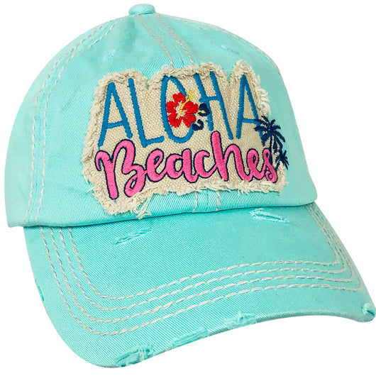 KBV-1199 Aloha Beaches Cap Dark Blue