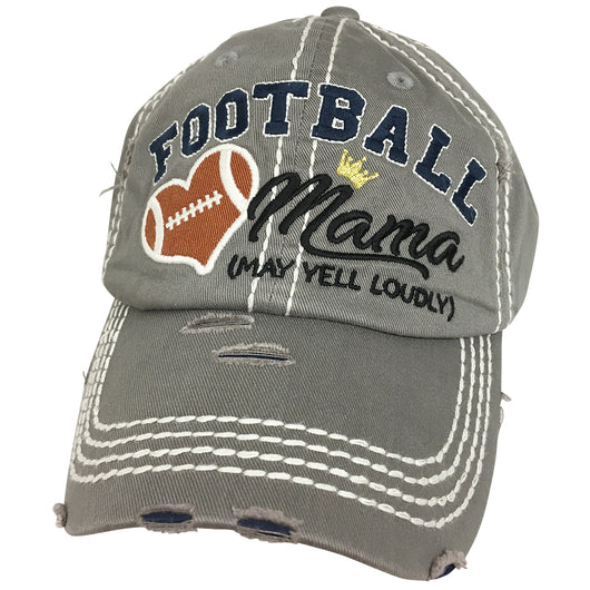 KBV-1162 Football Mama Light Grey