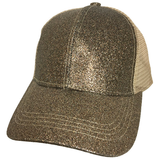 BT-6 METALLIC PONY CAP SMOKEY TOPAZ
