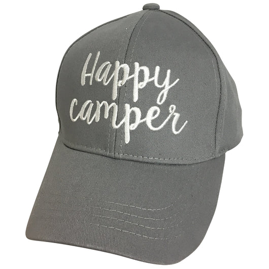 BA-2017 C.C Happy Camper Grey Cap