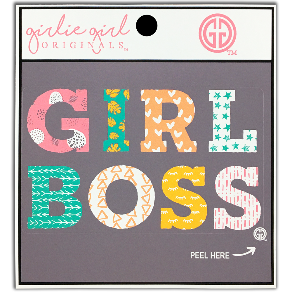 Girl Boss Decal/Sticker