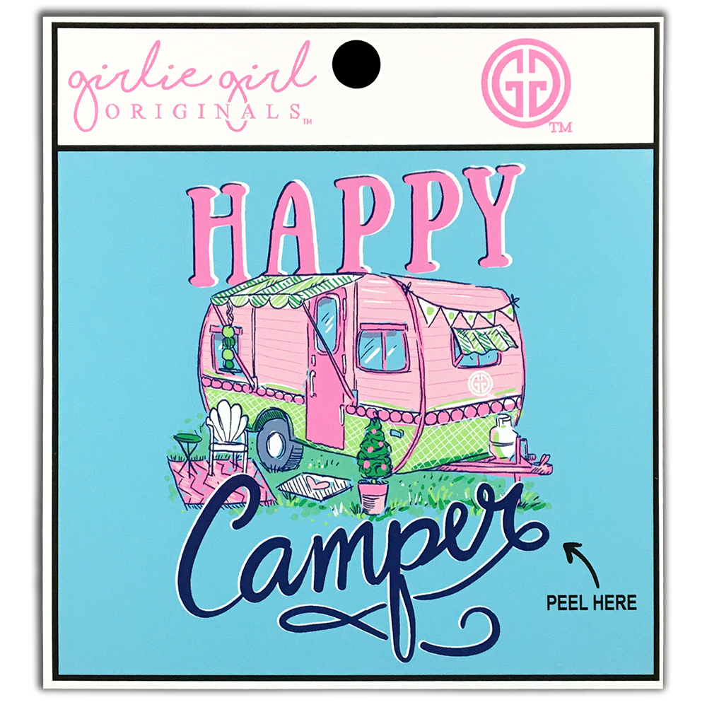 Happy Camper Decal/Sticker
