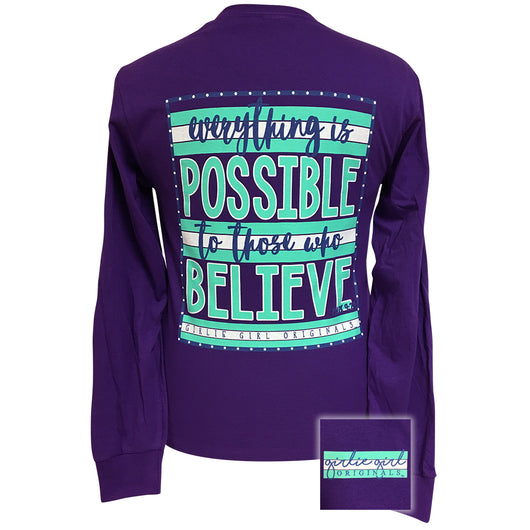 Everything is Possible-Purple LS-1555