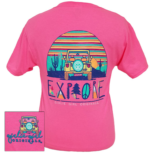 Explore Neon Pink Short Sleeve