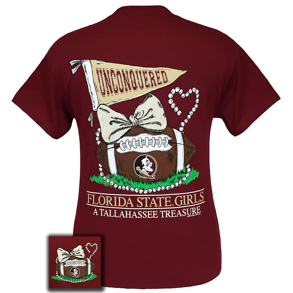 Florida State Treasures Garnet Short Sleeve