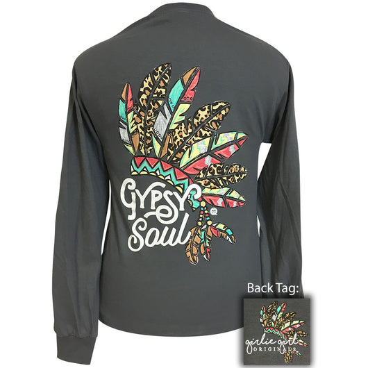 Gypsy Soul Charcoal Grey Long Sleeve