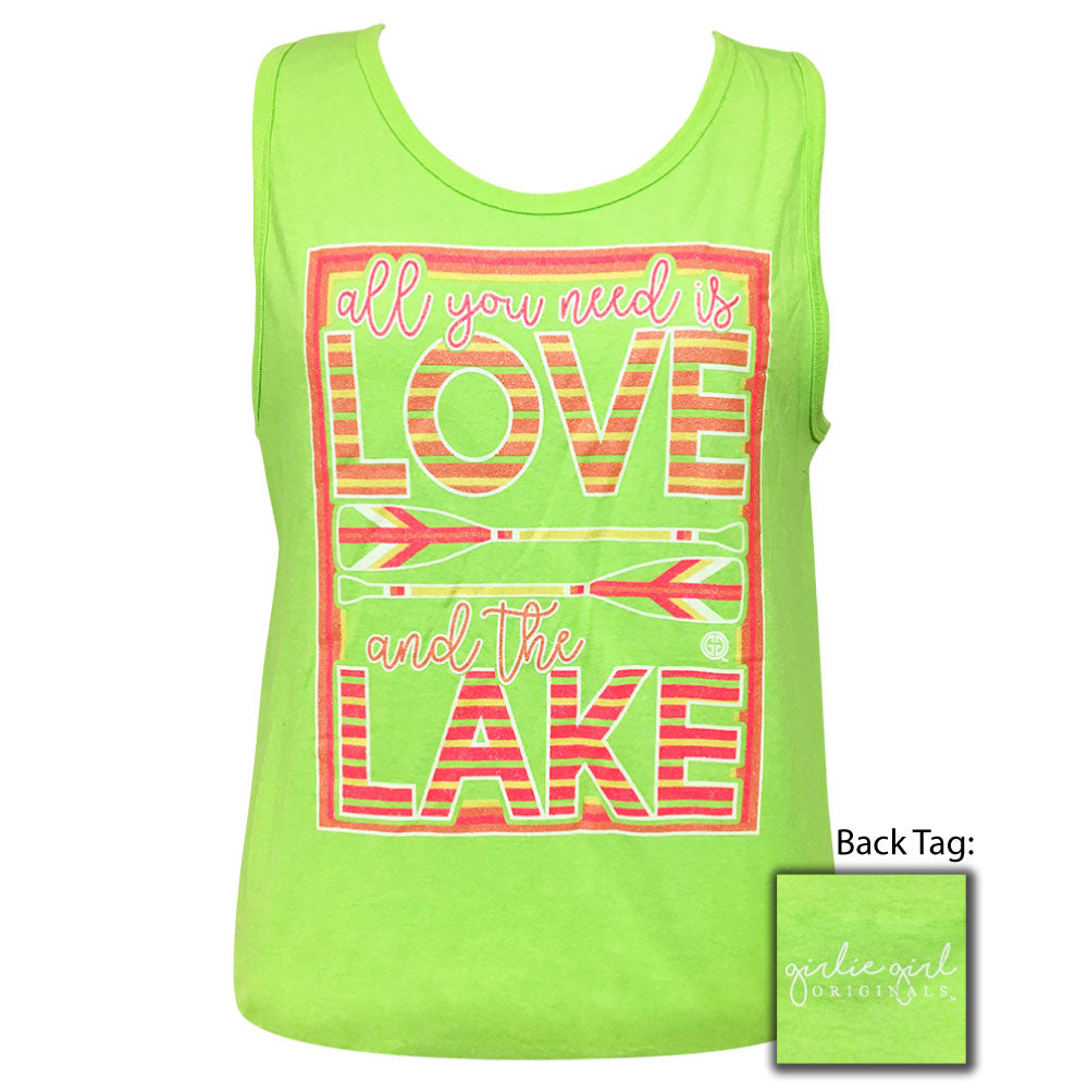 Love Lake Tank Neon Mint
