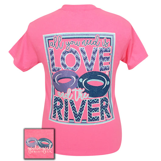 Love River Safety Pink Short Sleeve