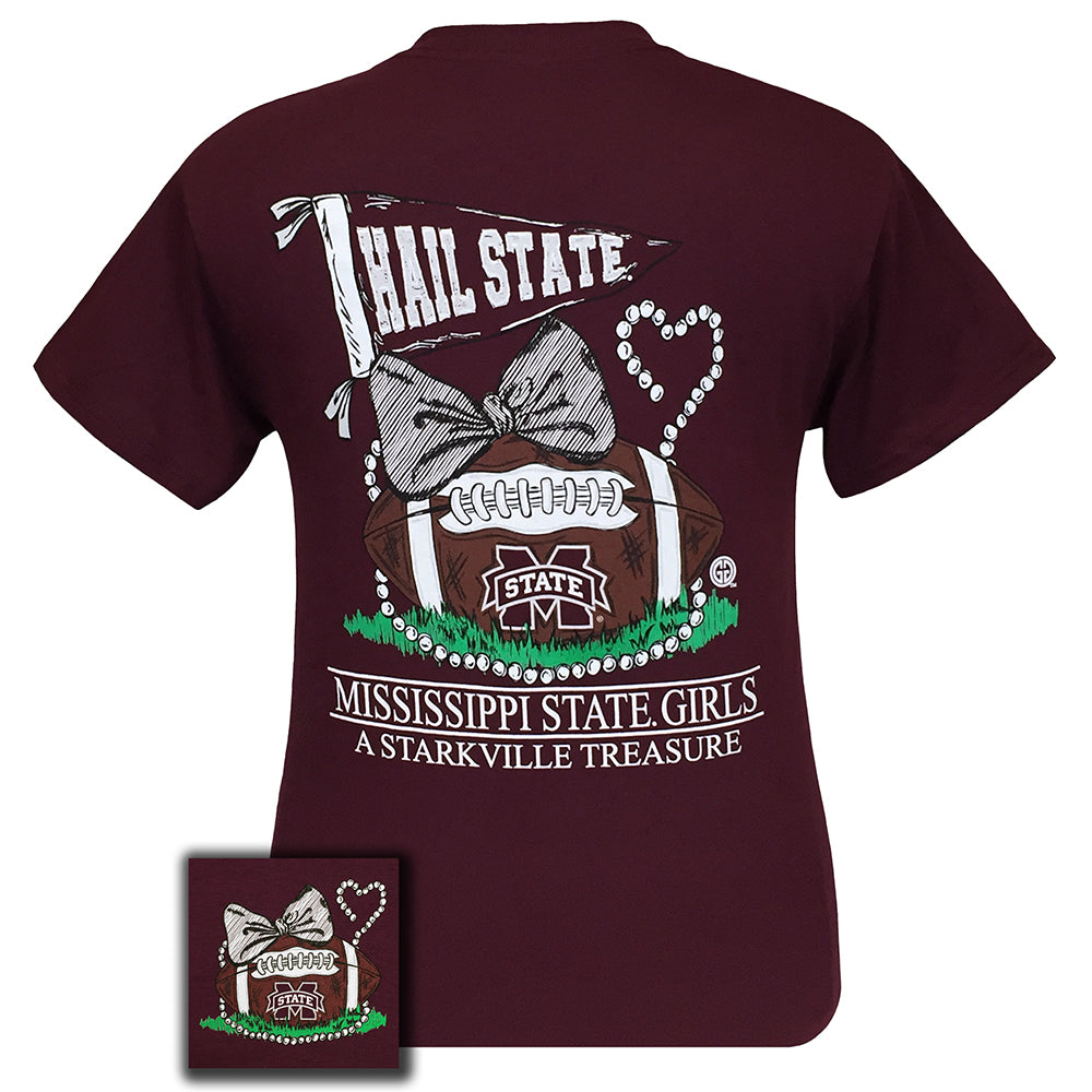 MSU Treasure Maroon Short Sleeve