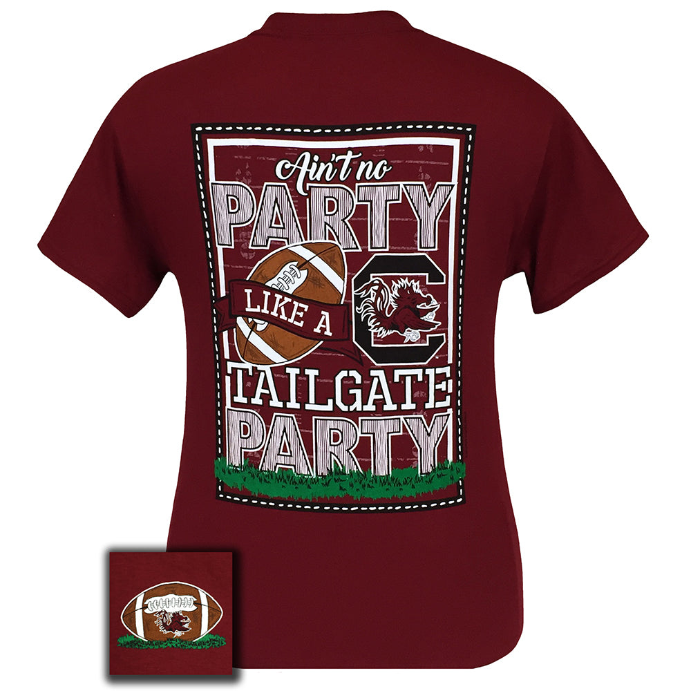 South Carolina Tailgate Garnet Short Sleeve