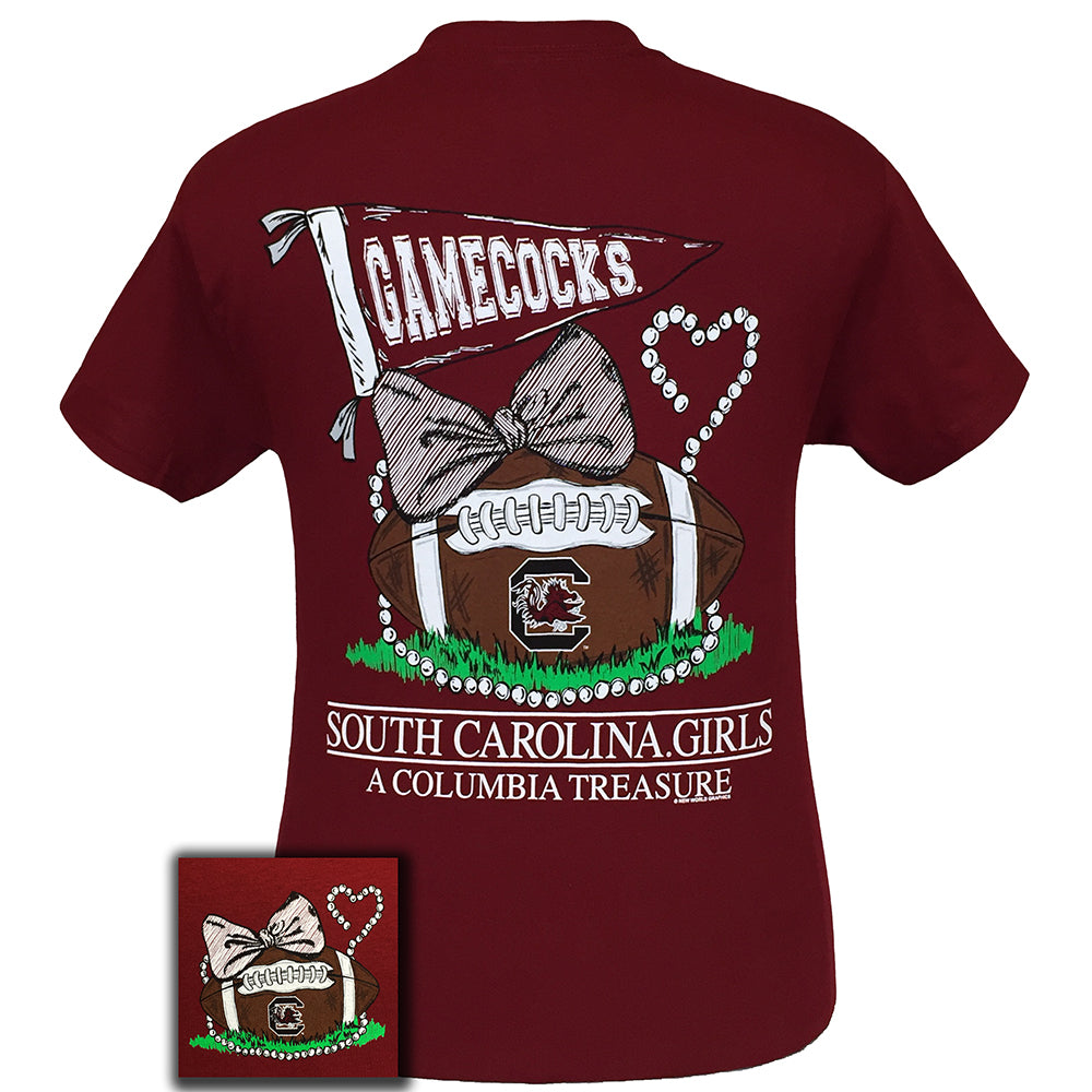 South Carolina Treasure Garnet Short Sleeve